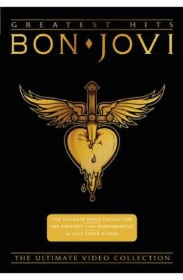 Bon Jovi: Greatest Hits - The Ultimate Video Collection (2010, DVD NEW)