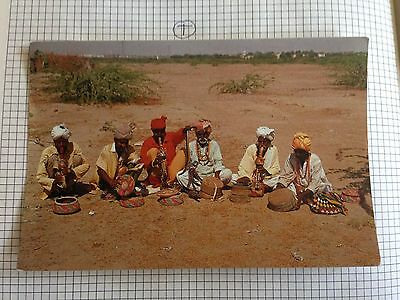 Pakistan The Famous Snake Charmers Of Sind Postcard
