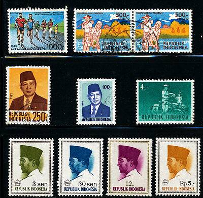 G203  Indonesia Collection Of Mint And Used Stamps