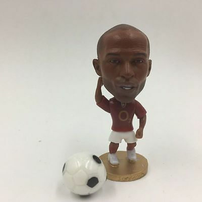 Statuina doll  #14 THIERRY HENRY ARSENAL FC gunners football action figure 7 cm