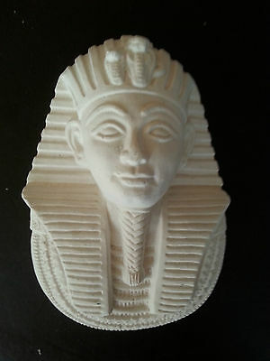 Egyptian Tutankhamun rubber latex mould mold  wall plaque plaster concrete use