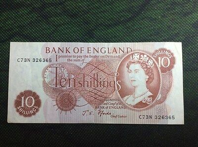 """10 shilling England """"portrait series 1961 to 1969"""""""