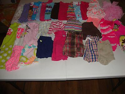 Girls Clothes Lot Size 18 18-24 24 Months Great For Spring Summer