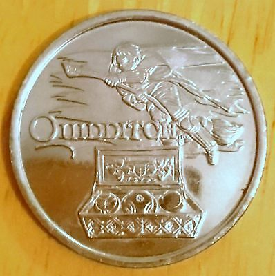Rare Asda Harry Potter Quidditch Coin From The Philosopher's Stone