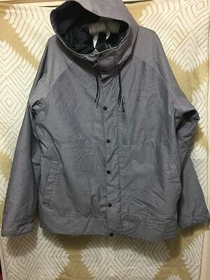 Oakley THINSULATE INSULATED Gray OAKLEY DIVISION WINTER JACKET Size XXL EUC