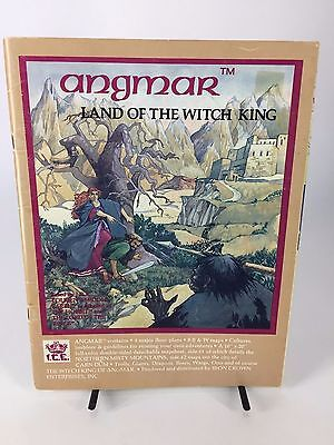Angmar Land Of The Witch King Fantasy Role Play Game Book Middle Earth G