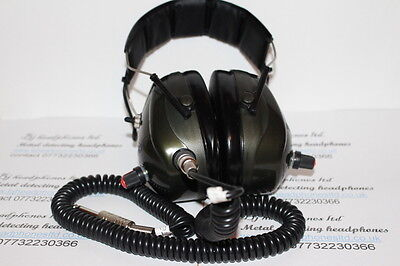 metal detector headphone/stereo mono switch /will work on all detectors150 ohms