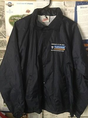 RCL Royal Caribbean Cruise Line Serenade of The Seas Crew Jacket M