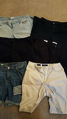 Lot of young girls clothes pants and shorts. size 14