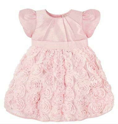 BNWTS Mothercare Pink Dress Christening Bridesmaid Party 12-18 Months £28