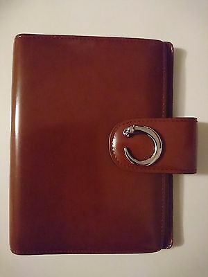 Cartier Panthere Leather Agenda / Organiser Case