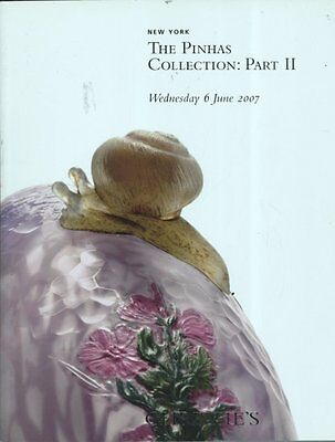Christie's The Pinhas Collection: Part 2 New York 6/6/07 Sale 1865