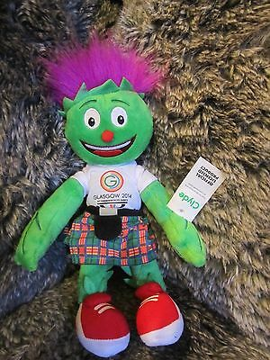 Commonwealth Games Glasgow  2014 Mascot Clyde In Kilt.  SPECIAL LIMITED EDITION