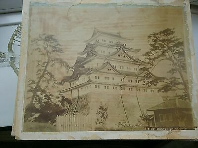 Antique Chinese Photogragh of Castle or Palace