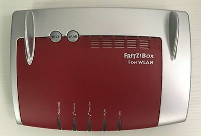 AVM Fritz!Box Fon 7390 Modem Router ADSL VDSL Wi-Fi Dual Band ISDN VoIP Dect