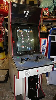 51 Vertical Game Arcade Machine, Vertical Shooters Etc Working
