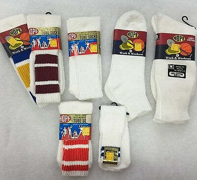 Hope Tube Socks Vintage **USA MADE**