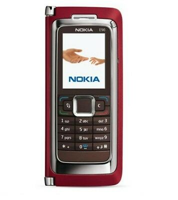 "Original Nokia E90 Communicator Dummy Phone red ""NEU"" ***RARITÄT***"