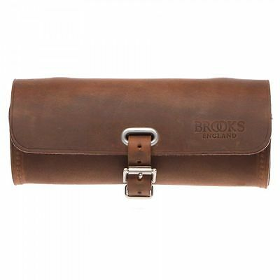 Brooks Challenge Premium Leather Cycle Tool Bag (Pre-Aged / Aged Brown)