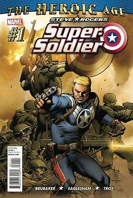 Steve Rogers Super Soldier #1-4 - Ed Brubaker, Dale Eaglesham and Carlos Pacheco