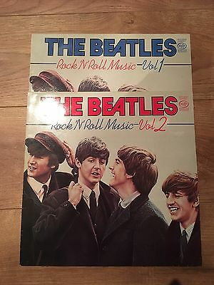 THE BEATLES - Rock And Roll Music Volumes 1 & 2 (MFP Vinyl Albums)
