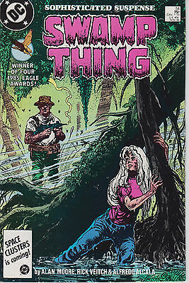 Swamp Thing 54 - 1986 - Moore - Near Mint