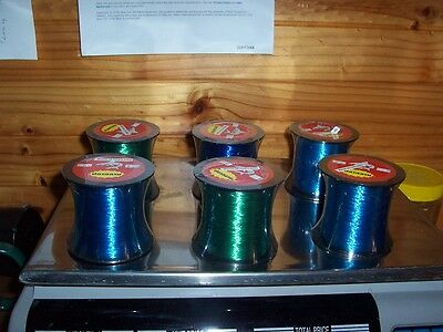 Fishing line spools various weights