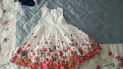 Bnwt 2 - 3 years girls dress stunning butterfly zebra party dress mothercare