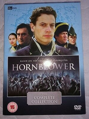 Hornblower series 1-3 complete collection dvd boxset