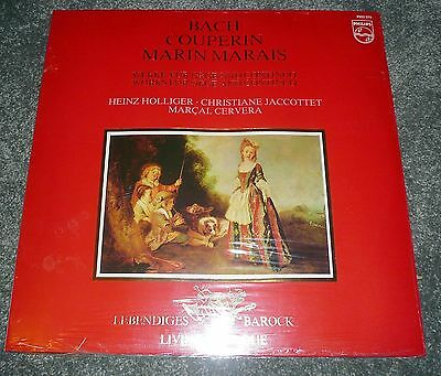 9502 070 - BACH etc - WORKS FOR OBOE AND CONTINUO - HOLLIGER - NEW / SEALED MINT