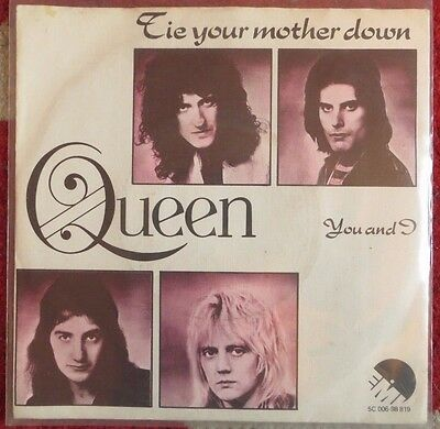 Queen: Tie Your Mother Down/you And I (Holland Single) 1976