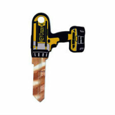 """3D """"DRILL"""" House Key Blank Kwikset KW1 REALLY COOL"""