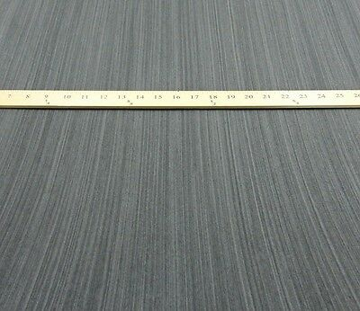 """Ebony Black Gray composite wood veneer 48"""" x 24"""" with paper backing 1/40th"""""""
