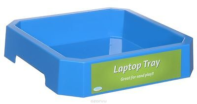 Laptop Sand Tray Blue (Kinetic Sand) by Waba Fun (191-101)