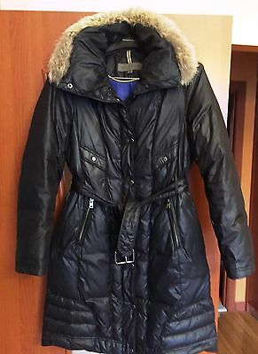 Marc New York Puffer Down Belted Women's Coat Size Small