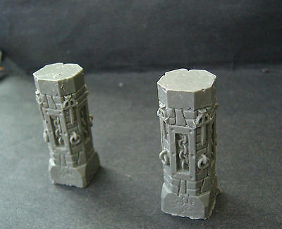 ral partha citadel dwarven forge dungeons & dragons 2xcolumns # furniture figure