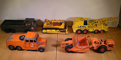Matchbox Joblot of 4 Kingsize and 1 BattleKings diecast Vehicles unboxed
