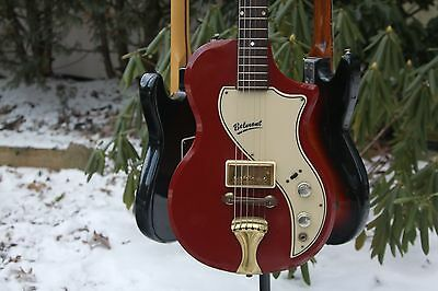 Vintage 1958 Supro Belmont Electric Guitar Valco National Fantastic Condition !