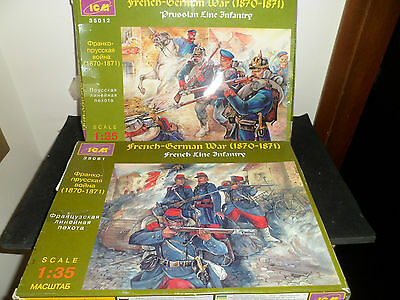 Soldatini 1/35 ICM  PRUSSIAN and FRENCH LINE INFANTRY