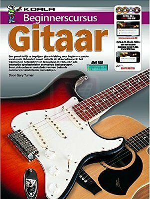 Beginnerscursus Gitaar - Guitar - BOOK+CD+DVDNew