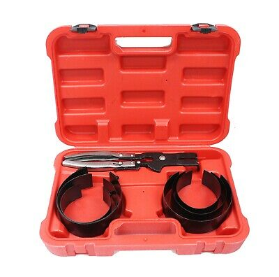 6 Cylinder Piston Ring Compressor with ratcheting plier