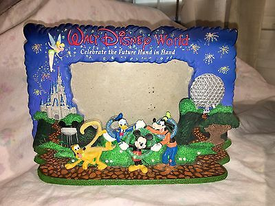 "2000 Walt Disney World Picture Frame ""Celebrate The Future Hand In Hand"""