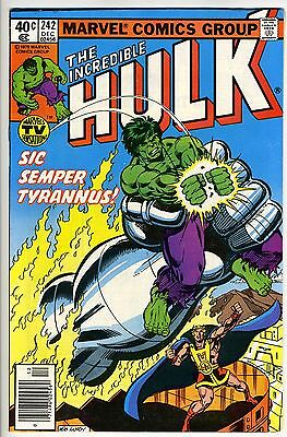 INCREDIBLE HULK  #242 - Tyrannus