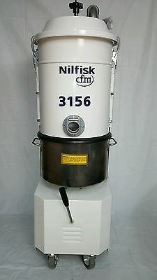 Nilfisk 3156 Industrial Vacuum Cleaner w/ HEPA Box and S/S Collector NEW