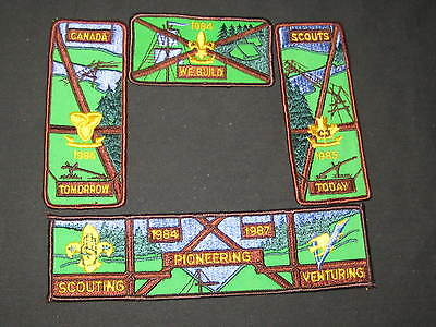 Canada 4 Large Segments for a Center Patch     fx
