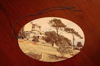 Vintage The Imperial Hotel Torquay England Luggage Tag Travel