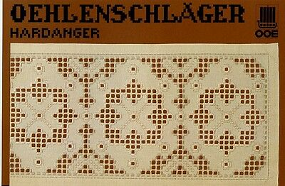 Oehlenschlager Hardanger #7 NEW OOE Pattern Leaflet - 30 Days to Shop & Pay!