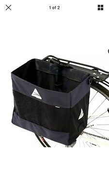 Axiom Hunter DLX Bicycle Pannier Bag - Shopping Grocery Bag
