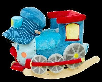 Rockabye 85048 Trax The Soft Train Rocker - 9 Months and Up