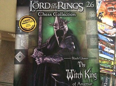 lord of the rings chess collection 26 - black queen - The Witch King of Angmar